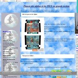 Jclic 1ers pas avec les Alphas - Planete des alphas et les TICE en grande section