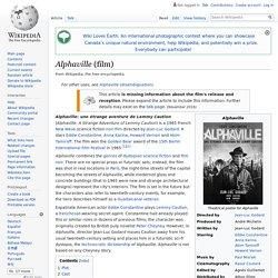 Alphaville (film)