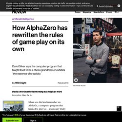 How AlphaZero has rewritten the rules of game play on its own