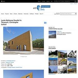 Lycée Alphonse Daudet In Tarascon / Christophe Gulizzi