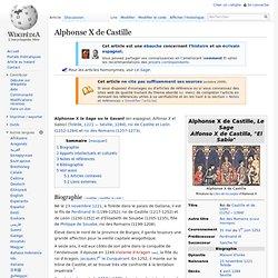 Alphonse X de Castille