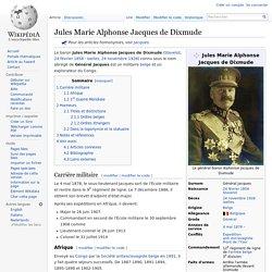 03/01/1892 le général belge Jacques crée le poste militaire d'Albertville