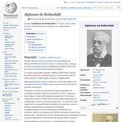 Alphonse de Rothschild 1827-1905