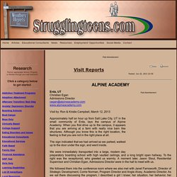 Alpine Academy Complaints
