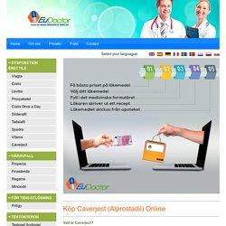Köp Alprostadil injektion online