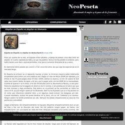 Alquilar en España vs alquilar en Alemania - NeoPeseta.- Lo mejor y los peor de la Economía