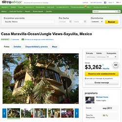 Casa Maravilla-Ocean/Jungle Views-Sayulita, Mexico