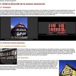 Alsace : la maison alsacienne