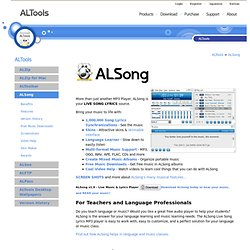 ALSong - mp3 player