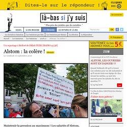 Alstom : la colère