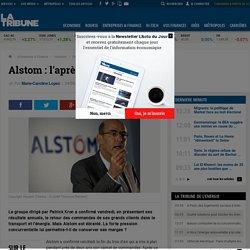 Alstom : l'après-crise sera difficile