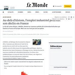 Au-delà d'Alstom, l'emploi industriel poursuit son déclin en France