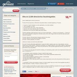 Alta en 2,300 directorios SeoAmigables