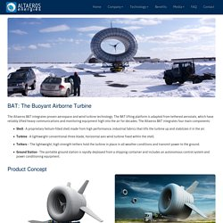 Altaeros Energies - The Buoyant Airborne Turbine