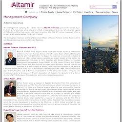 1995 Maurice Tchenio crée ALTAMIR
