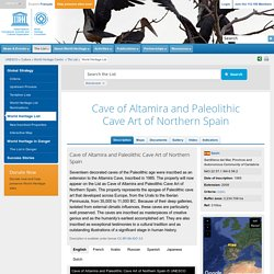 Cave of Altamira and Paleolithic Cave Art of Northern Spain
