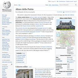 Altare della Patria - Rome Quadriga