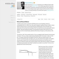Risk and Reward Deluxe « #AltDevBlogADay