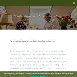 Altenpflege in Erlangen