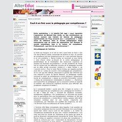 Alter Educ : édition du n° : 131, Actualités du 01au15/09/06