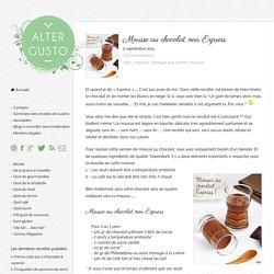Mousse au chocolat noir Express -