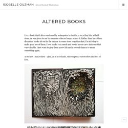 Altered Books – Isobelle Ouzman