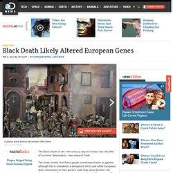 Black Death Likely Altered European Genes