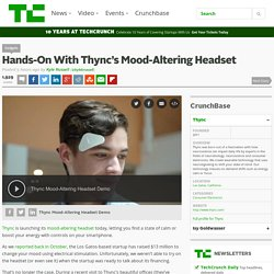 Hands-On With Thync's Mood-Altering Headset