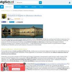 ALTERNANCE Bordeaux : Emploi et Formations à Bordeaux