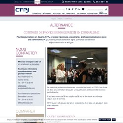 Paris : CFPJ alternance (pr)