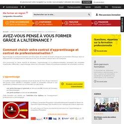 AVEZ-VOUS PENSÉ À VOUS FORMER GRÂCE A L'ALTERNANCE ? - Formation en Languedoc-Roussillon