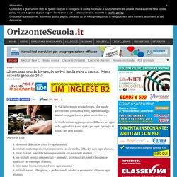 Alternanza scuola-lavoro, in arrivo 2mila euro a scuola. Primo acconto gennaio 2015