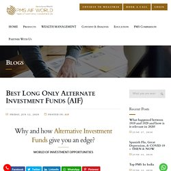 Best Long Only Alternate Investment Funds (AIF)