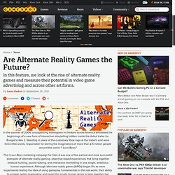 Are Alternate Reality Games the Future?
