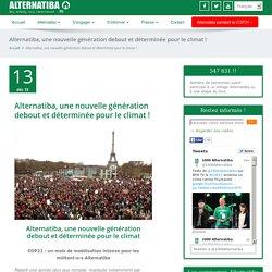 Alternatiba, une nouvelle génération debout et déterminée pour le climat
