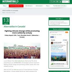 10, 100, 1000 villages of alternatives Alternatiba - Alternatiba