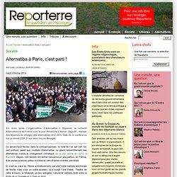 Alternatiba à Paris, c'est parti !