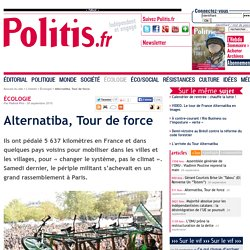 Alternatiba, Tour de force