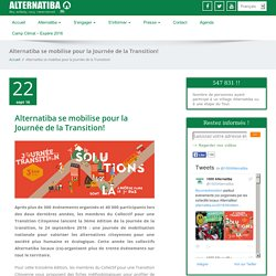 Alternatiba se mobilise pour la Journée de la Transition!