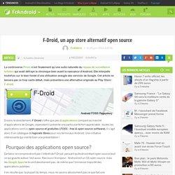 F-Droid, un app store alternatif open source
