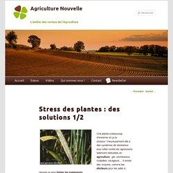 Stress biotique des plantes moyens de lutte alternatifs