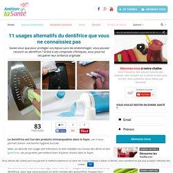 11 usages alternatifs du dentifrice que vous ne connaissiez pas