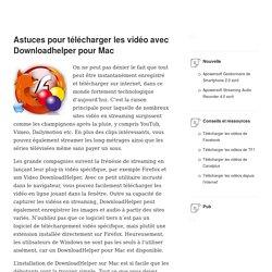 Meilleurs outils alternatifs à DownloadHelper pour Mac
