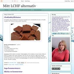Mitt LCHF alternativ: Chokladtryffelrutor