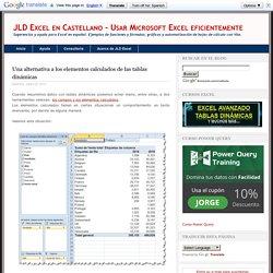 Una alternativa a los elementos calculados de las tablas dinámicas