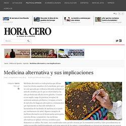 Medicina alternativa y sus implicaciones