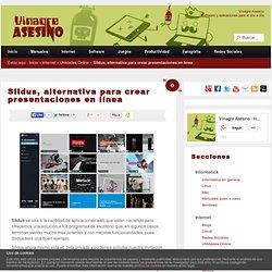 Slidus, alternativa para crear presentaciones en línea
