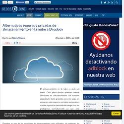 Alternativas seguras y privadas de almacenamiento en la nube a Dropbox