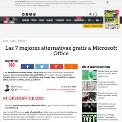 Las 7 mejores alternativas gratis a Microsoft Office - ComputerHoy.com