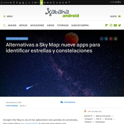 Alternativas a Sky Map: nueve apps para identificar estrellas y constelaciones